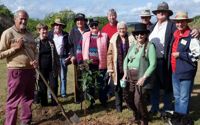 Betty Markwell memorial planting